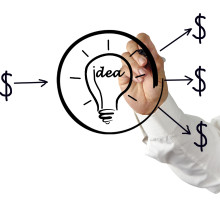 Investment to Idea illustration