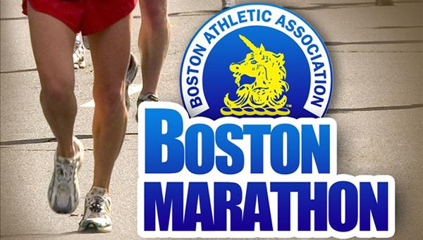 boston athletic association / boston marathon logo