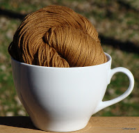 Coffee yarn, a new invention that infuses coffee into yarn