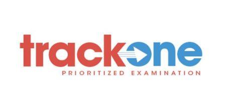 Track One prioritized examination logo