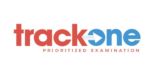 Track One prioritized examination logo