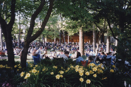 View of the Ravinia Pavilion